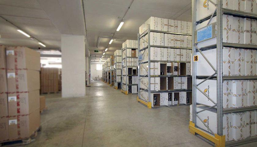 scaffali metallo per archivi uffici ts-3 long span