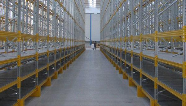 scaffalature industriali stoccaggio pesante
