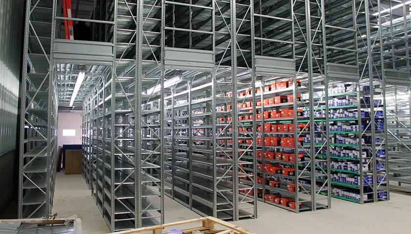 Block Sistem Scaffalature.Scaffalature Leggere Unirack Scaffali Metallici Block Sistem