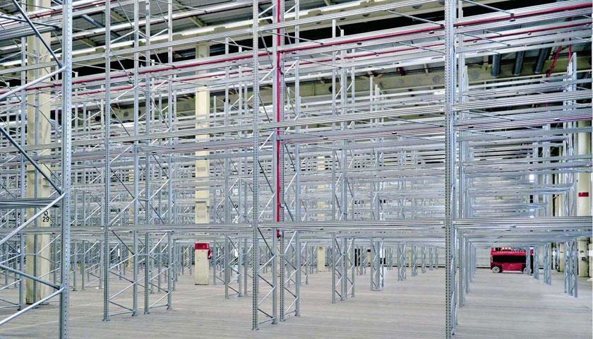 scaffali industriali stoccaggio pesante