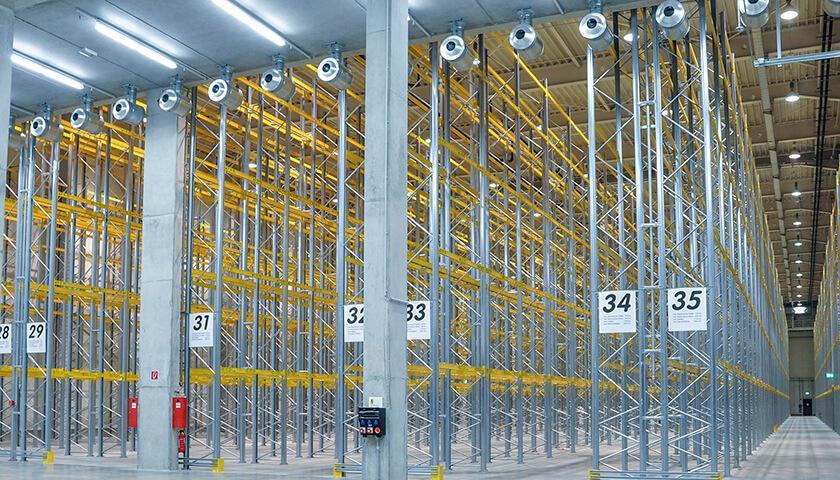 scaffalature portapallet industriali unibuild