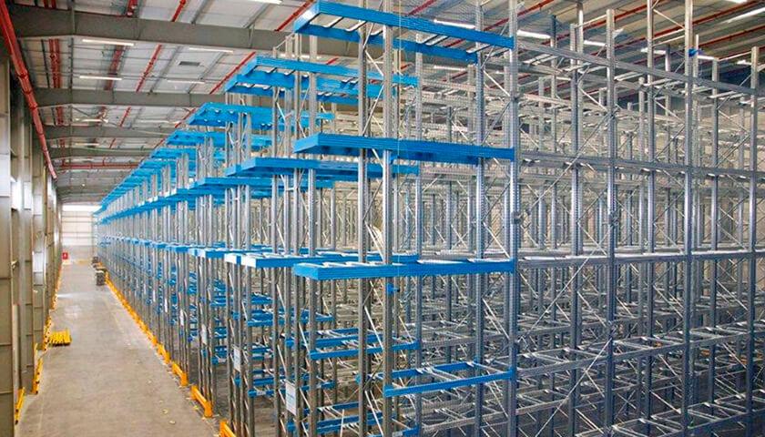 ispezione scaffali industriali basilicata