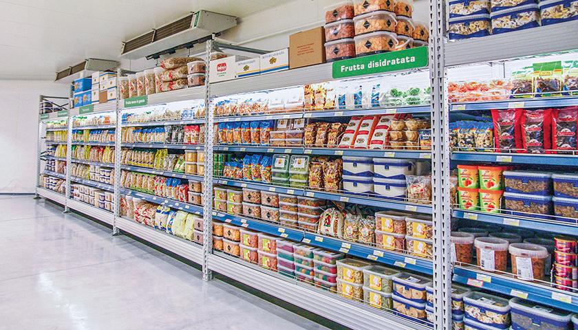 Scaffalature Per Negozi Alimentari.Scaffali Per Negozi Scaffalature Metalliche Negozi E Punti Vendita