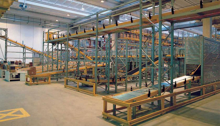 magazzini automatici trasporto a terra